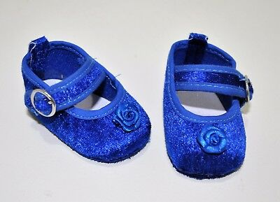 Our Generation American Girl Dolls 18 Inch Doll Clothes Blue Velvet Shoes