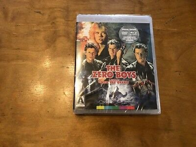 The Zero Boys Blu ray/DVD*Arrow Video*2 Disc*4K Restoration*Sealed/NEW*