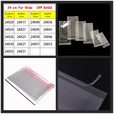 160Pcs 11cmX18cm 1mil OPD Self Adhesive Seal Reclosable Plastic Clear Bags