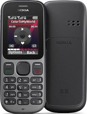 Small Nokia 100.1 Gsm Wireless Cell Phone Telcel Carrier Only Bar Camera Pocket