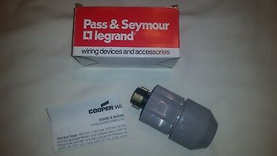 Pass &  Seymour Plug 20415-N 30 Amp 3 pole 4 wire New Plug in original Package