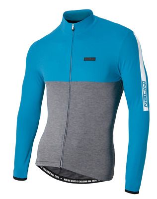 fbf410234 NALINI MANTOVA WARM Long Sleeve Jersey - Grey Blue Size-L -  19.99 ...