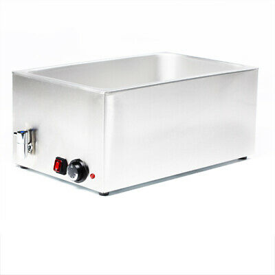 """""""New"""" - Stainless Steel Hot Food Warmer Bain Marie 8710"""