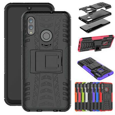 For Huawei P Smart 2019 Case Shockproof Rugged Bumper Hybrid Armor Stand Cover