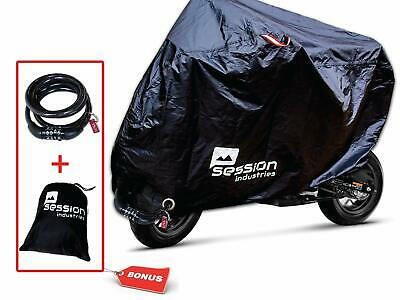 Motorcycle Cover For Moped Scooter Waterproof Outdoor Bike Storage With Bonus...