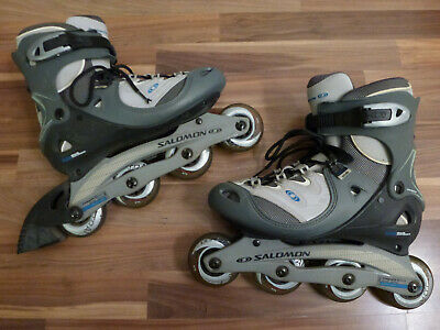 5b29274c2f374e TOP High End SALOMON DR 85 Damen Inline Skates Inliner Rollschuhe Gr. 42 Gr.