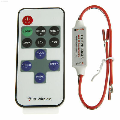 4531 DC 12V RF Wireless Remote KEYS Switch Controller Dimmer Mini LED Strip