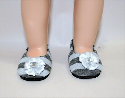 Our Generation American Girl Journey Girl 18 Inch Dolls Clothes Grey Black Shoes