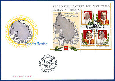 FDC FOUNDATION VATICAN STATE 2019 CITTÀ VATICANO First Day Cover - FILITALIA 423