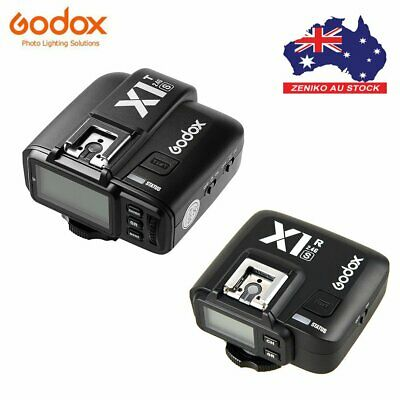 AU Godox X1T-S TTL 2.4G Flash Trigger Transmitter+X1R-S Receiver For Sony DSLR