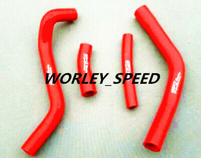 Red Silicone Radiator Hose Kit For Yamaha YZF250 YZ250F 2014 2015 2014-2015
