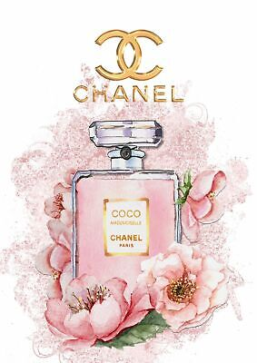 Chanel Coco Mademoiselle Fashion Print - Glossy Finish - A4 Unframed