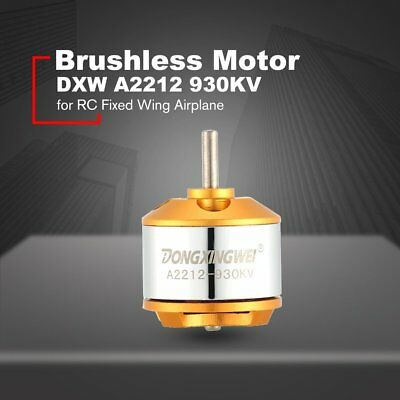 DXW A2212 930KV 2-4S Outrunner Brushless Motor for RC Fixed Wing Airplane EC