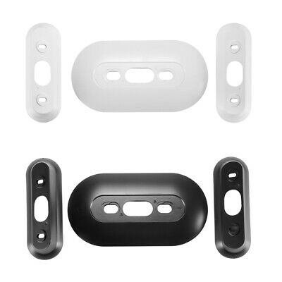 Hard ABS Plastic Wall Plate with L/R Wedge Angle Mount for Nest Hello Doorbell