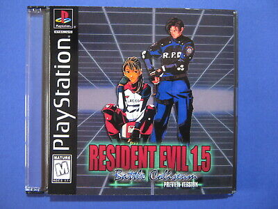 Resident Evil 1.5 Battle Coliseum Preview-demo, Sony PlayStation 1 PSX PS1