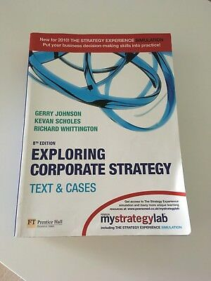 Exploring Corporate Strategy:Text & Cases with Companion Website Student Access