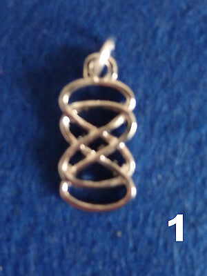 Double Infinity Sacred Geometry Mandala Pendant Necklace Charm