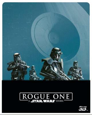 Blu-Ray ***  ROGUE ONE A STAR WARS STORY *** Steelbook Fuori catalogo 3D+2D