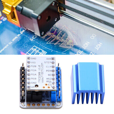 3D Printer V1.0 Stepper Motor Mute Driver + Tester Adapter Kit + USB Cable TE946