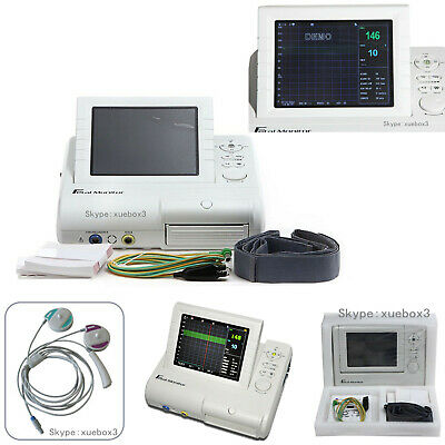 CMS800G CONTEC Fetal Monitor, FHR, TOCO FMOV Real Time Machine, 3 in 1 Probe,Hot