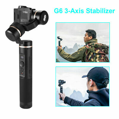 Splashproof Handheld Feiyu G6 3-Axis Stabilizer for Gopro Hero 6/5 Camera TV081