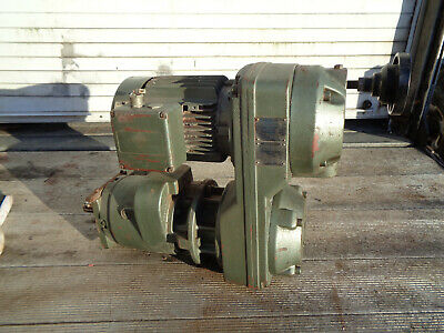 Flender 3 phase variable speed conveyor belt motor gearbox LOTMEQFL01