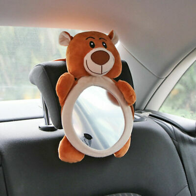 Adjustable Safety Seat Car Wide View Rear Back Mirror Headrest Mount For Baby