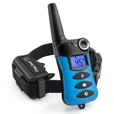 Ipets 1000ft Waterproof Pet Training Shock Collar with Remote Dog Shock Collar