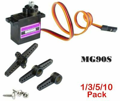 9g Metal Gear Upgraded SG90 Digital Micro Servo for RC Plane Helicopter Boat Car