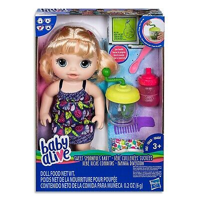 Baby Alive Sweet Spoonfuls Baby Blonde