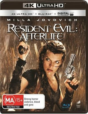Resident Evil - Afterlife 4K Ultra HD : NEW UHD Blu-Ray
