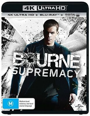 The Bourne Supremacy 4K Ultra HD : NEW UHD Blu-Ray
