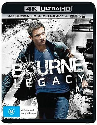 The Bourne Legacy 4K Ultra HD : NEW UHD Blu-Ray