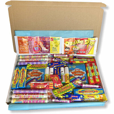 Swizzels Sweet Hamper Vegan Personalised Gift Traditional Old Fashioned Retro