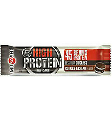 Musashi High Protein Low Carb Cook and Cream 90g x 12