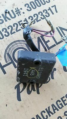 821889A12 REV LIMITER Mercury 60hp 3 Cylinder Outboard