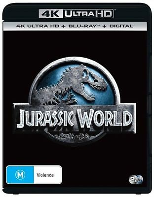 Jurassic World 4K Ultra HD : NEW UHD Blu-Ray