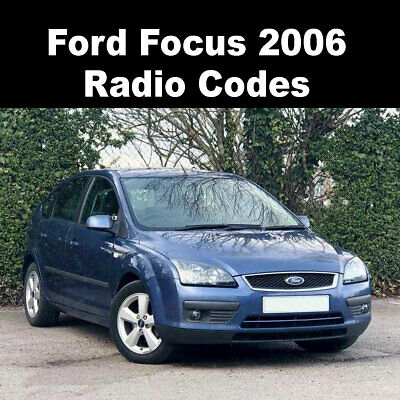 2006 ford focus stereo