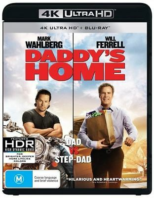Daddy's Home 4K Ultra HD : NEW UHD Blu-Ray