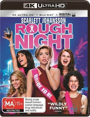 Rough Night 4K Ultra HD : NEW UHD Blu-Ray