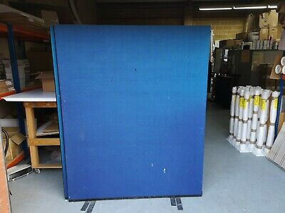 3 Office Partitions - approx 1500mm wide x 1800mm tall. No Reserve.