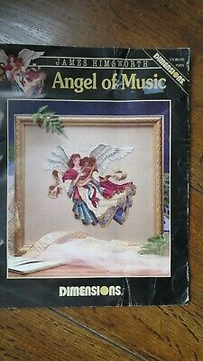 Dimensions Angel of music DMC/Anchor Cross Stitch Pattern