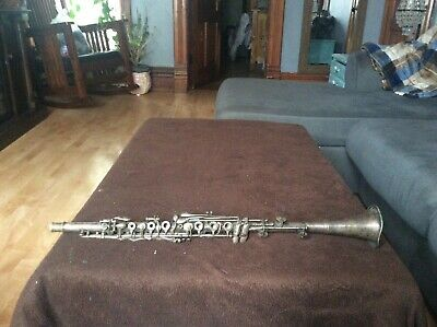 Antique German clarinet  By Horst Moennig Bros Monnig Artist Model Silvertone