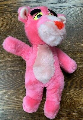 """Vintage 1996 Pink Panther United Artists Pictures Inc MGM 11"""" Plush Toy"""