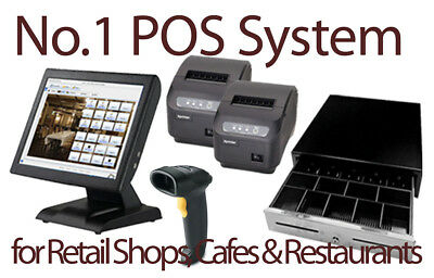 Brand New POS System with POS Software, Cash Drawer and Printer