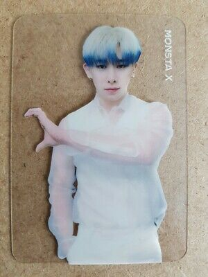 MONSTA X WONHO #10 Official Authentic PHOTOCARD TAKE.2 WE ARE HERE 2nd Album