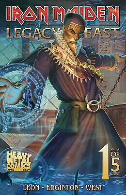 Iron Maiden Legacy of the Beast Vol 2 #1 Cover C PREORDER - SHIPS 24/04/19