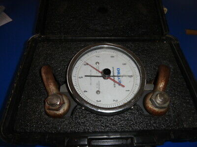 Dillon Dynamometer 10,000 Lb With Rings