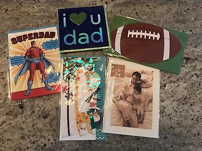 107902ade7b978 Papyrus Lot Of 5 Fathers Day Cards Dad Value  31.75 lot 2