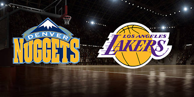 2 Tickets Los Angeles LAKERS vs Denver Nuggets 3/6/19 *AISLE LOWER LEVEL* LeBron